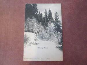 VINTAGE B&W CARTE POSTALE POSTCARD SWITZERLAND RUTIWEG DAVOS WELTPOSTVEREIN   eBay
