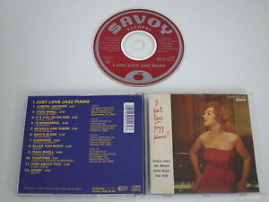 HAWES-NICHOLS-MORA-SMITH-I-JUST-LOVE-JAZZ-PIANO-SAVOY-SV-0117-CD-ALBUM
