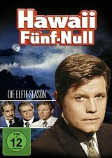 JAMES MCARTHUR JACK LORD - HAWAII 5-0 (ORIGINAL) S11 6 DVD NEU