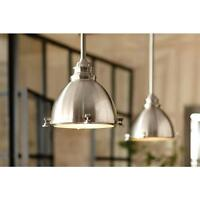 1 Light Chandelier Ceiling Metal Rustic Dome Vintage Edison Pendant Lamp