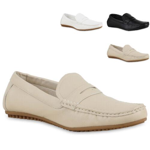 Mokassins Herren Leder-Optik Slippers Bequeme Casual Wear 814345 Mode