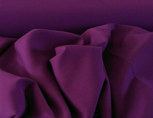"Free swatches Magenta Gabardine  Tropical 100/% Polyester 60 to 62/""wide"