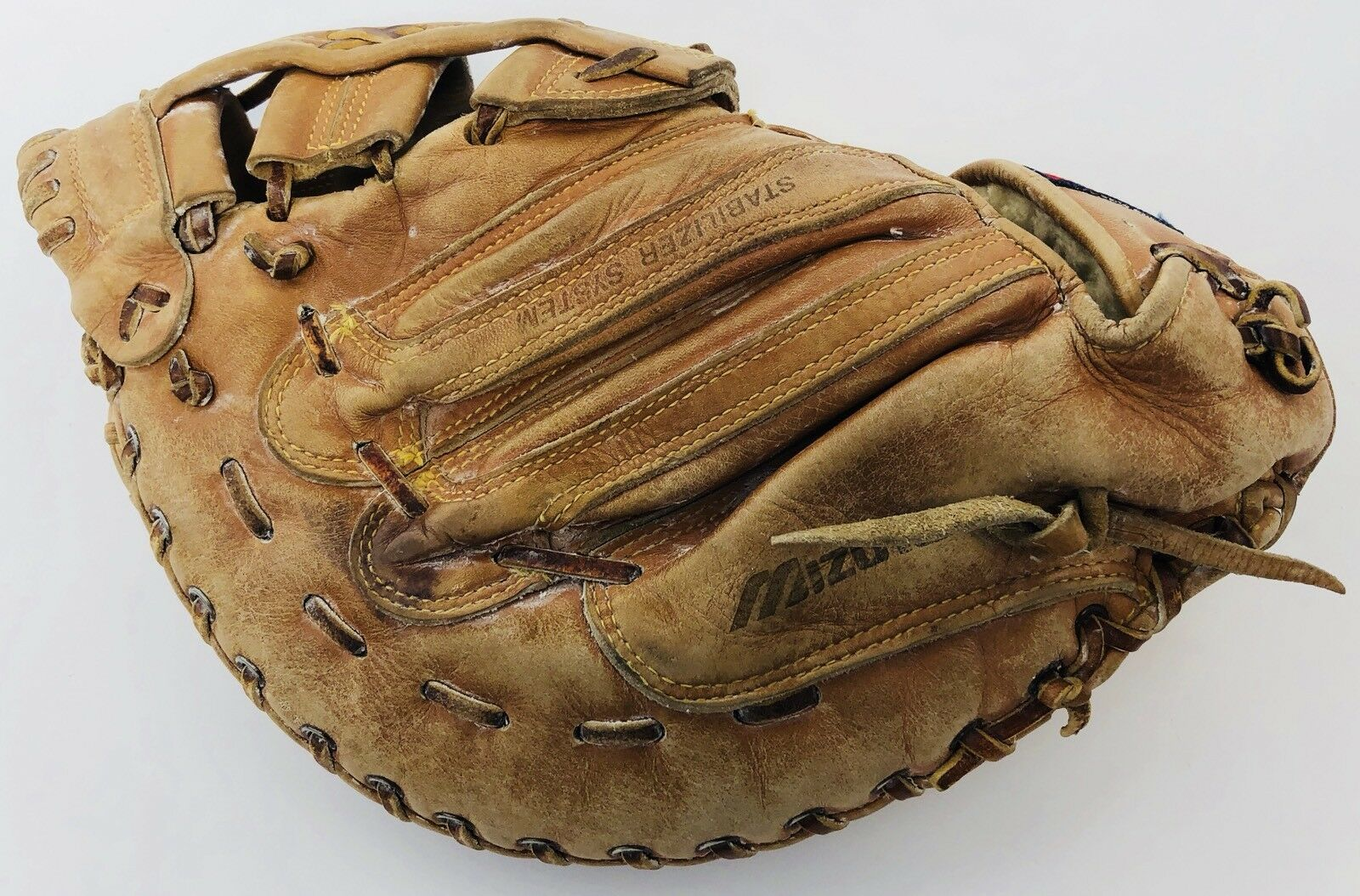 "Mizuno GFB-6 World Win 12"" Base Baseball Softball First Base 12"" Mitt Right Hand Throw 1453a8"