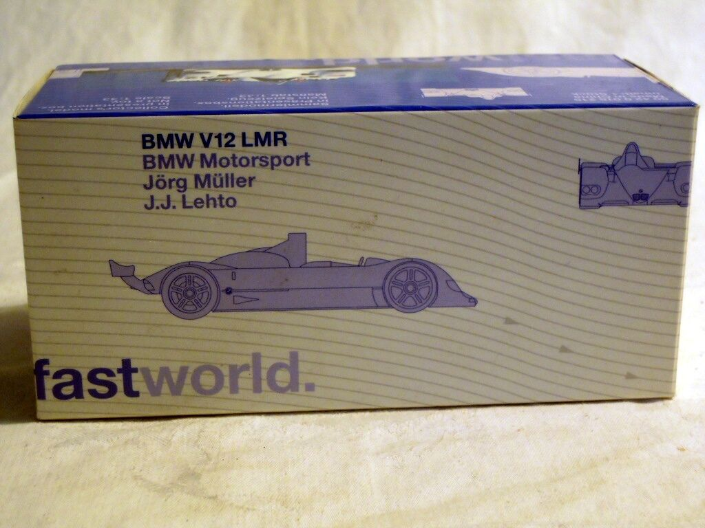 BMW 80420018215  BMW V12 LMR, Le Mans 2000 Diecast in 1 43, NEW & OVP