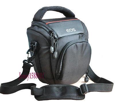 Canvas Camera Bag Case For Canon EOS 600D 60D 7D 700D 60D 100D 6D M 60Da 5D