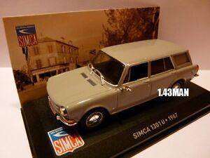 SIM1F-Voiture-1-43-IXO-altaya-SIMCA-1301U-1967-grise