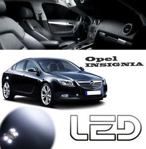 OPEL-INSIGNIA-Kit-15-Ampoules-LED-Blanc-eclairage-plafonnier-coffre-boites-gants
