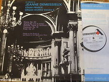 SDD 204 Franck Organ Works Vol. 3 / Demessieux
