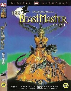 The Beastmaster (1982) Marc Singer Tanya Roberts DVD MOVIE GIFT NEW SEALED