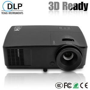3600lm-12000-1-3D-HD-Projector-DLP-Home-Theater-Education-Movie-Game-VGA-1080P