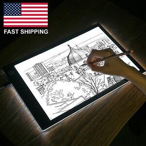 A4-USB-LED-Artist-Stencil-Board-Tattoo-trazado-de-caja-de-luz-Pad-Mesa-de-dibujo-mesa