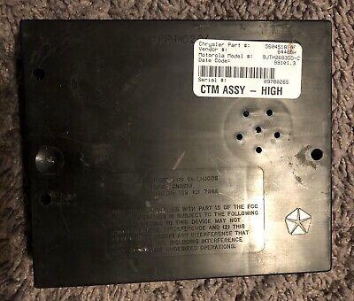 1999 Dodge Ram BCM CTM Central Timing Alarm Body Control Module 56045183AF oem