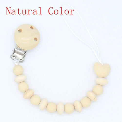 Anti-lost Pacifier Clip Circle Non-toxic Soother Clips Teething Dummy Clips Gift