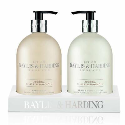 Baylis & Harding Jojoba Vanilla & Almond Oil Hand Cream Set