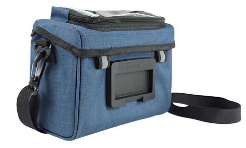 NORTHWIND Lenkertasche Pure MIT KlickFix Adapter Fahrradtasche blau