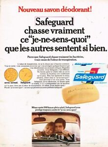 Breweriana, Beer J Publicité Advertising 1968 Le Savon Safeguard Other Breweriana