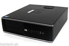 Fast HP Compaq Elite 8100 SFF Intel Core i5 8 GB Ram 1 TB HDD DVD RW Windows 7