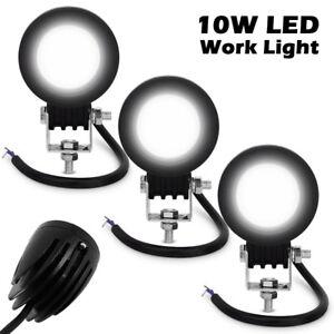 2PCS-10W-Motorcycle-CREE-LED-Work-Light-Bar-Spot-Beam-4WD-Reverse-Lamp-12V-24V