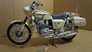 honda 4 police 750cc motorcycle action man scale ebay. Black Bedroom Furniture Sets. Home Design Ideas