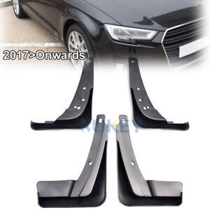 fit for audi a3 2017 2018 hatchback mud flaps splash guards front rh ebay com Audi Accessories Mud Flaps Mud Flaps Audi A6