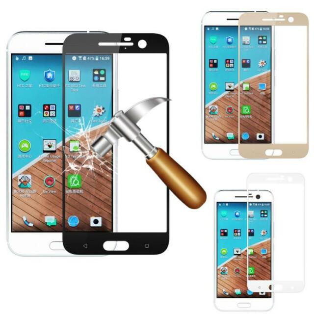 9H Full Covered Genuine Tempered Glass Screen Protector Film For HTC One M10