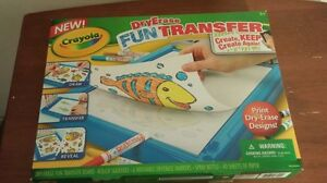 NEW CRAYOLA DRY ERASE FUN TRANSFER- - Art for ages 8+