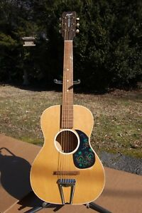 Belle Champ Guitare Acoustique Par Jackson Guldan Chris Adjustomatic Ohio Usa 6 Cordes-afficher Le Titre D'origine
