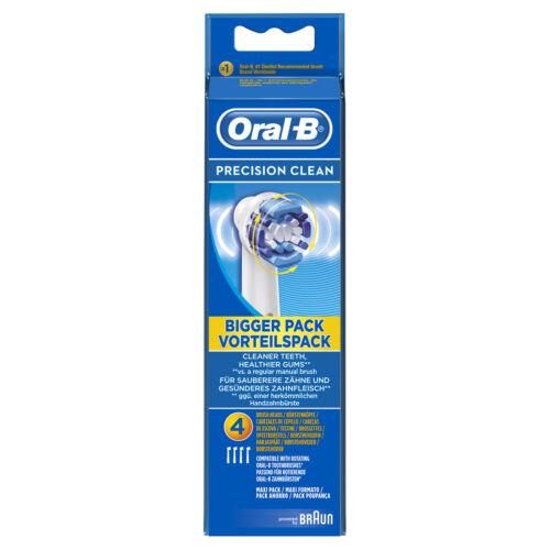Braun Oral-B Precision Clean Teste di Ricambio Spazzolino Elettrico