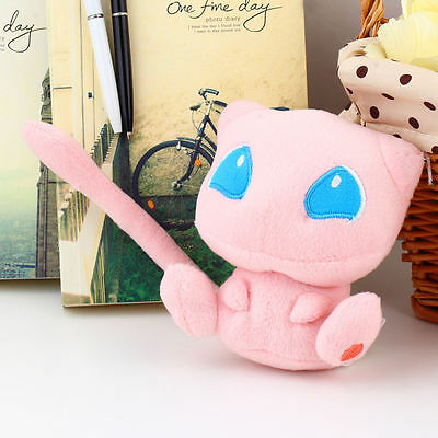 Cute Pokemon Rare Mew Plush Soft Doll Toy Gift Stuffed Animal Game Collect
