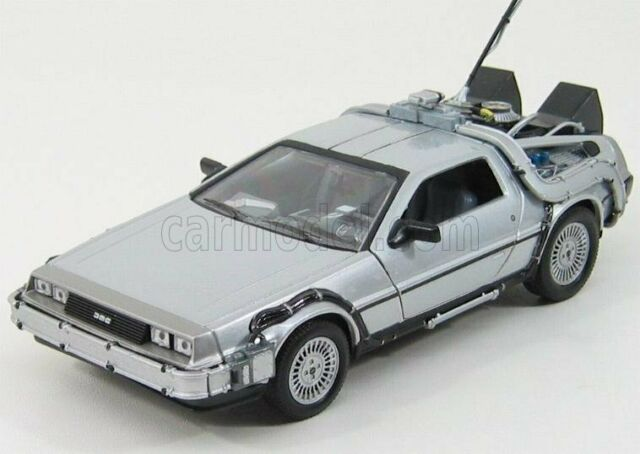 1/24 WELLY - DE LOREAN - TIME MACHINE 1 - RITORNO AL FUTURO 1 - BACK TO WE22443