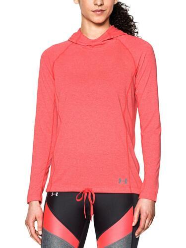 NWT Under Armour UA Threadborne Train Twist Women's LS Shirt S M Marathon Red