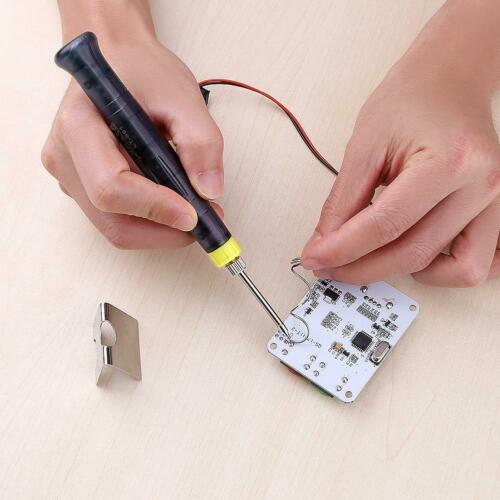 5V 8W Portable USB Electric Powered Soldering Iron Pen Tip Touch Switch Kit  UK