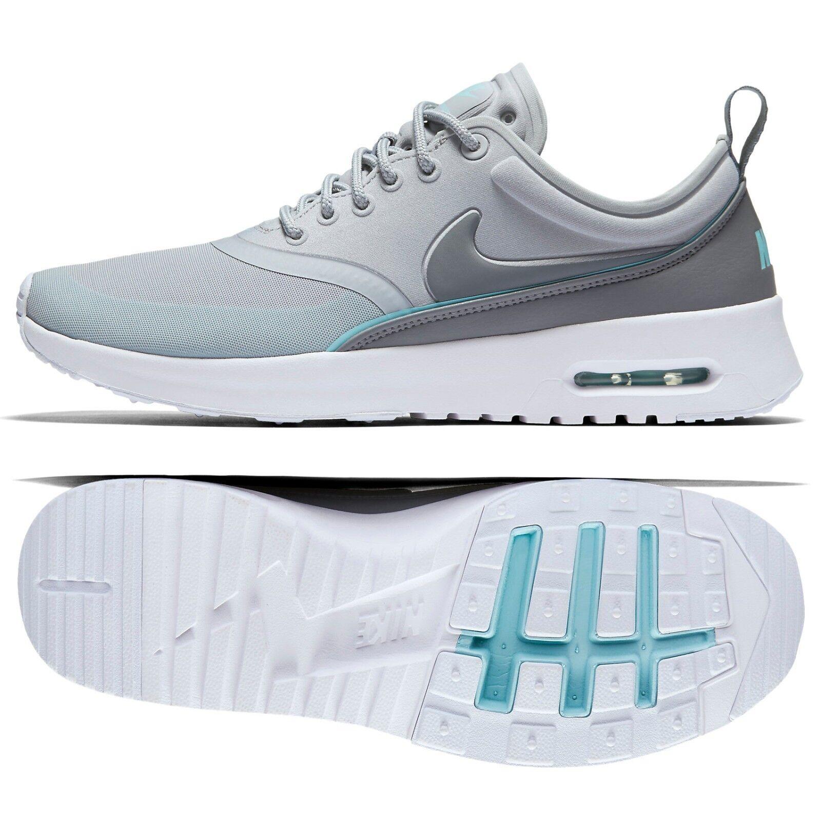 W W W Nike Air Max Thea Ultra 844926-002 gris malla Copa Tinte Azul Zapatos De Mujer  descuento de bajo precio