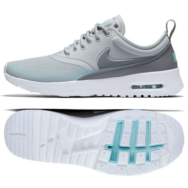 Nike W Air Max Thea Ultra 844926 002 GreyCopaBlue Tint Mesh Women's Shoes