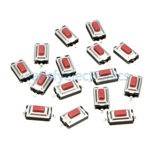 20 pcs 3x6x2.5mm Momentary Tact SMD SMT Pushbutton Micro Switch 2 Pin