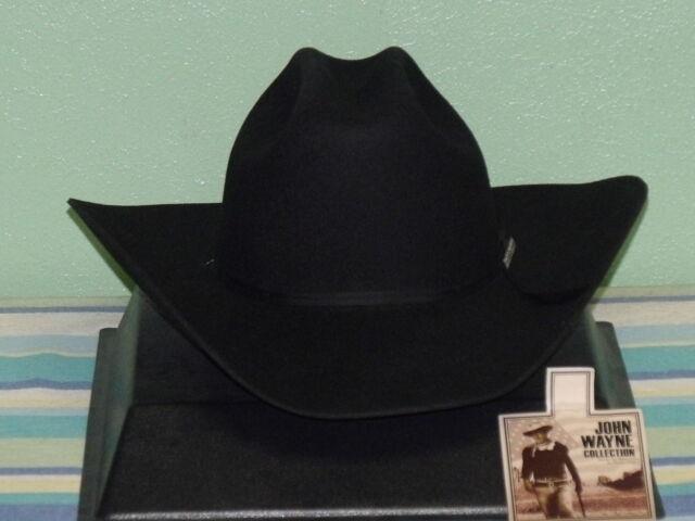 a28572dce99b0 Resistol John Wayne Cattleman Crease Peacemaker 4x Wool Cowboy ...