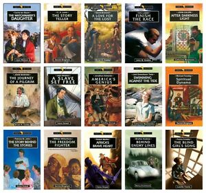 NEW-Trailblazer-Series-Set-of-15-Paperback-Wilberforce-Tada-Christian-Biography