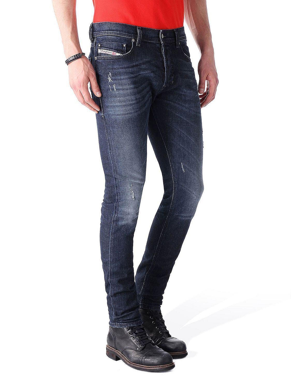 Diesel Tepphar R842r_Stretch Men's Jeans Pants Slim Carred