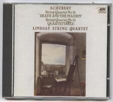 Lindsay String Quartet-String Quartet No 14 Death & The Maiden & No 12 CD
