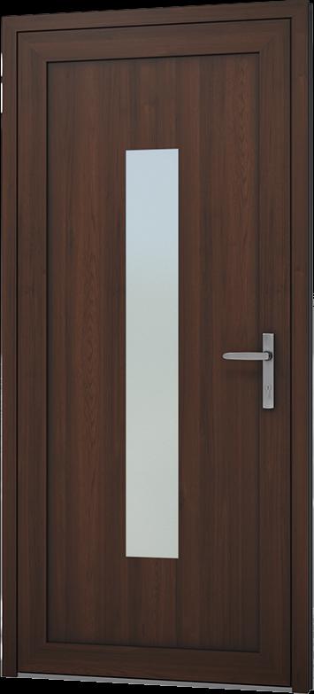 JEDER GRÖßE Haustür Tür Eingangstür DIN rechts / links Aluminiumtür Außentür