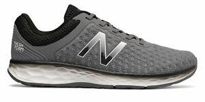 New-Balance-Male-Men-039-s-Fresh-Foam-Kaymin-Mens-Running-Shoes-Grey-With-Black
