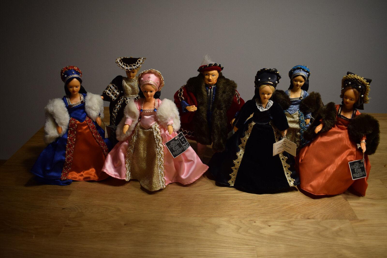 Peggy Nisbet Dolls Puppen King Henry VIII mit seinen 6 6 6 Ehefrauen 4965a3