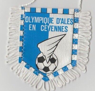 Orig.wimpel Olympique Ales (frankreich) - 80ziger Jahre !! Selten Warm Und Winddicht