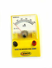 Analog Ammeter Dc Current Meter 0 500 Microamp 10 Microamp Resolution