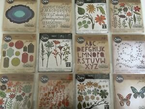 Sizzix-Tim-Holtz-Alterations-Collection-Thinlits-Die-YOU-PICK-NEW