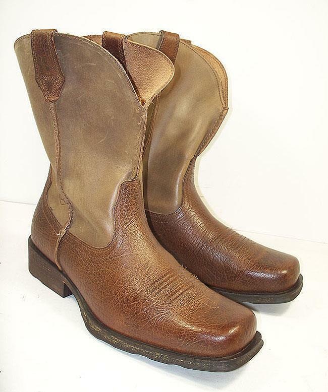 Men's Ariat 10002317 Rambler Cowboy Boots 10 EE