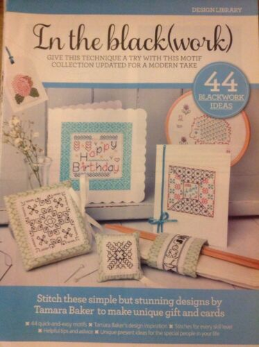 L 44 Blackwork Designs For Cards And Gifts Cross Stitch Chart
