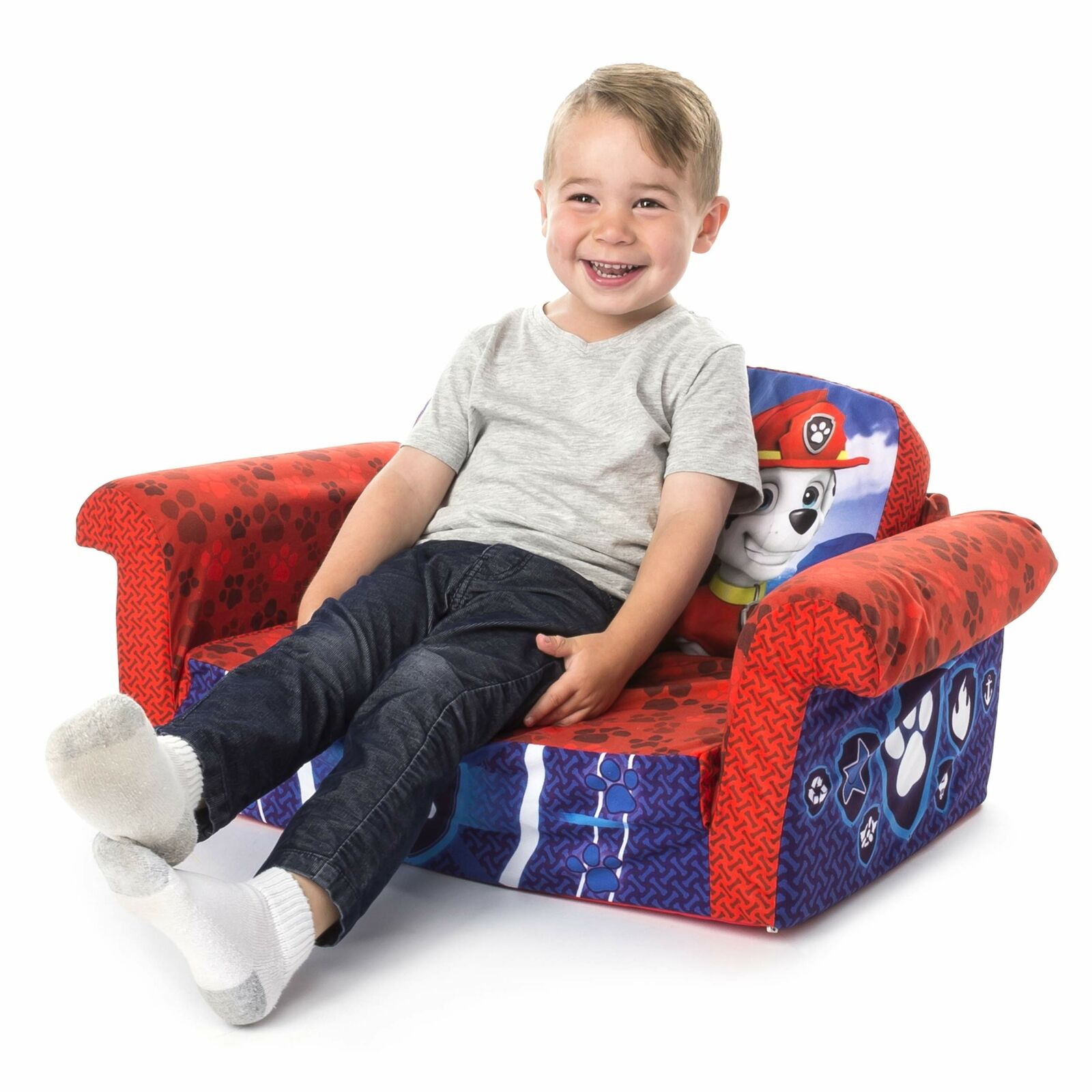 Flip Open Foam Sofa Chair Childrens