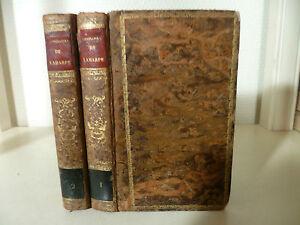 M Di Laharpe - Abbreviata Del Corso Di Letteratura - 1830 - Libraio L.Lefort