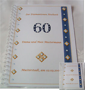 Diamanthochzeit-Festzeitung-Diamantene-Hochzeit-Geschenk-Einladung-Karte-Deko